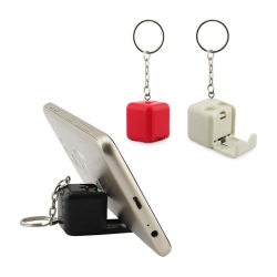 Llavero Cubo Porta Celular